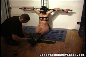 Leather bondage makes amateur victim loo - XXX Dessert - Picture 14