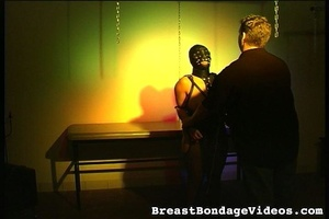 Young lady in black leather mask and sex - XXX Dessert - Picture 5