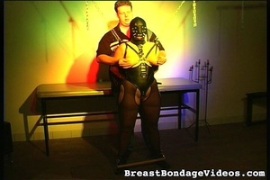 Young lady in black leather mask and sex - XXX Dessert - Picture 9