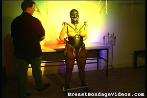 Young lady in black leather mask and sex - XXX Dessert - Picture 10