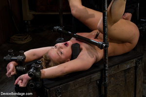 Blonde with perky tits bound and fucked  - XXX Dessert - Picture 15