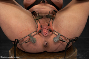Sexy brunette humiliated in bondage and  - XXX Dessert - Picture 6