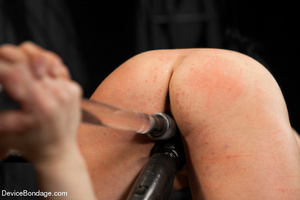 Sexy brunette humiliated in bondage and  - XXX Dessert - Picture 11