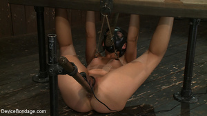 Cute and innocent girl bound and toyed c - XXX Dessert - Picture 9