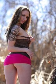 alluring hottie pose her