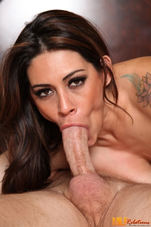 Luscious brunette with big soggy breasts - XXX Dessert - Picture 9