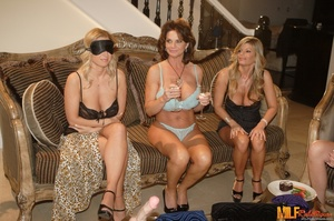 Alluring cougars in lusty lingerie gets  - XXX Dessert - Picture 1