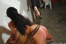 brunette, rough, spanking