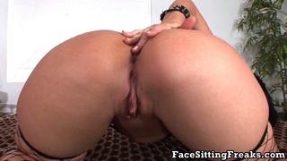 ass, brunette, face, femdom