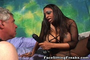 dominant ebony with really