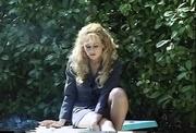 lovely blonde darling loves