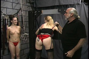 MILF with big butt in red panties gets b - XXX Dessert - Picture 2