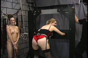MILF with big butt in red panties gets b - XXX Dessert - Picture 3