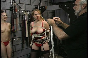 MILF with big butt in red panties gets b - XXX Dessert - Picture 8