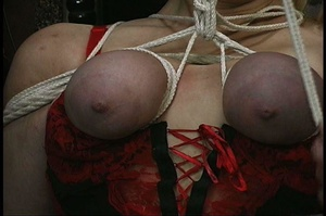 MILF with big butt in red panties gets b - XXX Dessert - Picture 10