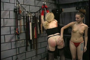 MILF with big butt in red panties gets b - XXX Dessert - Picture 16