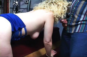 Blonde dame gets stimulated vagina with  - XXX Dessert - Picture 15