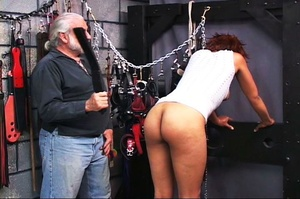 Beautiful black-skinned babe enjoys BDSM - XXX Dessert - Picture 12
