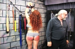 Chubby redhead gets chained and blindfol - XXX Dessert - Picture 15