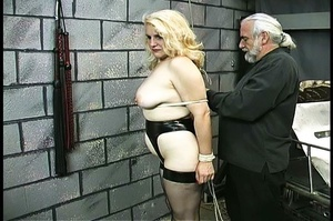 Fatty blonde woman gets dominated by exp - XXX Dessert - Picture 3