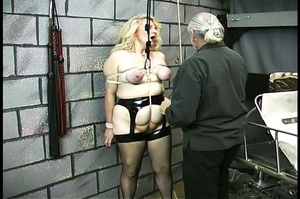 Fatty blonde woman gets dominated by exp - XXX Dessert - Picture 7