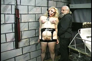 Fatty blonde woman gets dominated by exp - XXX Dessert - Picture 8