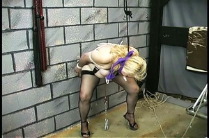 Fatty blonde woman gets dominated by exp - XXX Dessert - Picture 10