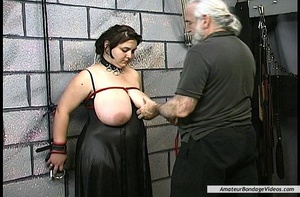 BDSM scene starring brunette BBW with in - XXX Dessert - Picture 13