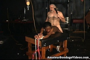 Mature man tied, fucked and toyed busty  - XXX Dessert - Picture 4