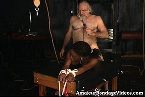 Mature man tied, fucked and toyed busty  - XXX Dessert - Picture 6