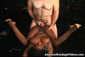 Mature man tied, fucked and toyed busty  - XXX Dessert - Picture 11