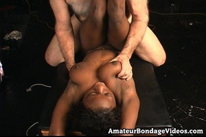 Mature man tied, fucked and toyed busty  - XXX Dessert - Picture 13