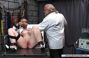 BDSM-addicted doctor tests a lot of toys - XXX Dessert - Picture 13