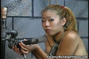 Asian tests new devices of crazy master  - XXX Dessert - Picture 1