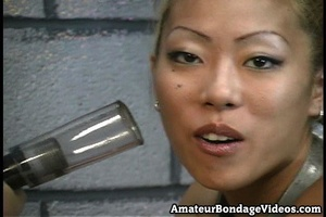 Asian tests new devices of crazy master  - XXX Dessert - Picture 3