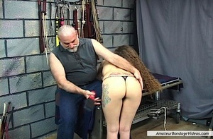 Young helpless babe suffers dominator's  - XXX Dessert - Picture 1