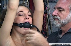 Young helpless babe suffers dominator's  - XXX Dessert - Picture 9
