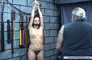 Young helpless babe suffers dominator's  - XXX Dessert - Picture 12