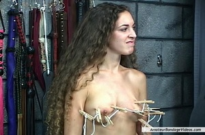 Young helpless babe suffers dominator's  - XXX Dessert - Picture 16