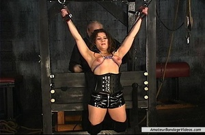 Chained MILF can't wait to get her natur - XXX Dessert - Picture 3