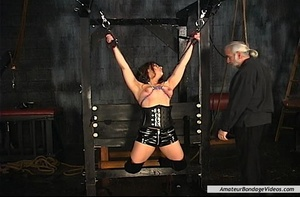 Chained MILF can't wait to get her natur - XXX Dessert - Picture 4