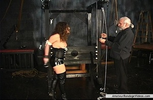 Chained MILF can't wait to get her natur - XXX Dessert - Picture 7