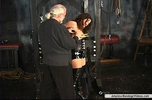 Chained MILF can't wait to get her natur - XXX Dessert - Picture 8