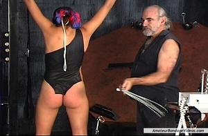 Chained MILF can't wait to get her natur - XXX Dessert - Picture 12