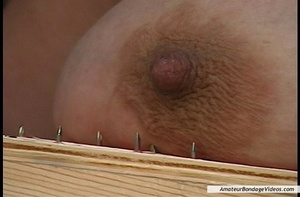 Chubby blonde MILF gets humiliated in a  - XXX Dessert - Picture 2