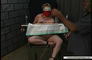 Chubby blonde MILF gets humiliated in a  - XXX Dessert - Picture 5