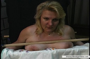 Chubby blonde MILF gets humiliated in a  - XXX Dessert - Picture 7