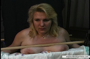 Chubby blonde MILF gets humiliated in a  - XXX Dessert - Picture 8