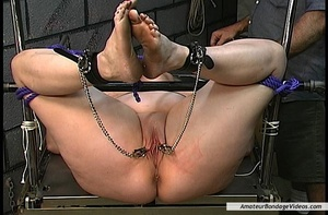 Chubby blonde MILF gets humiliated in a  - XXX Dessert - Picture 14