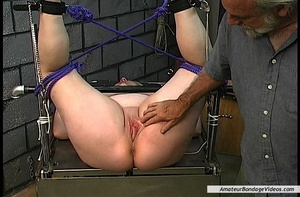 Chubby blonde MILF gets humiliated in a  - XXX Dessert - Picture 15